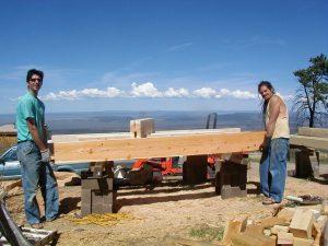 construction at lama foundation