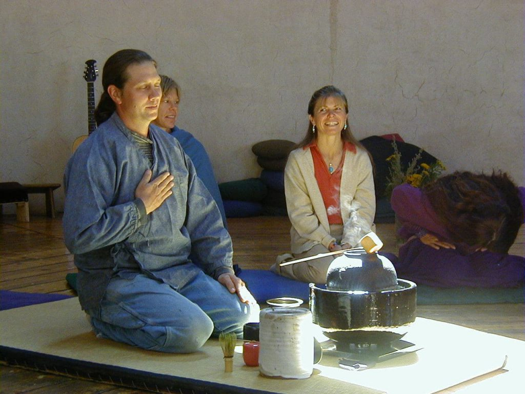 Japanese Tea Ceremony as Lama Foundation