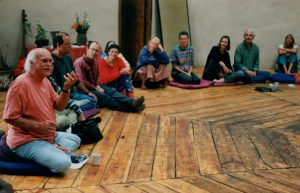 Ram Dass teaching at Lama 1996